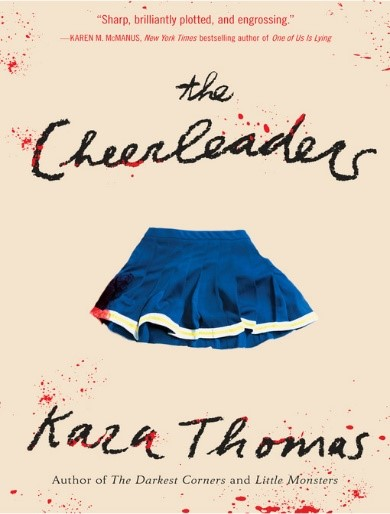 cover image for The Cheerleaders by Kara Thomas - Available
