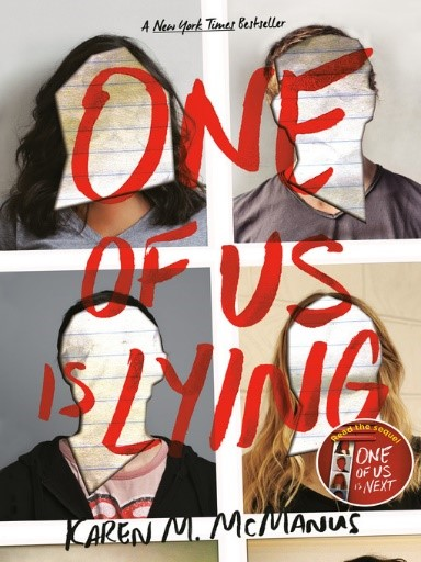 cover image for One of Us Is Lying by Karen M. McManus - Wait list