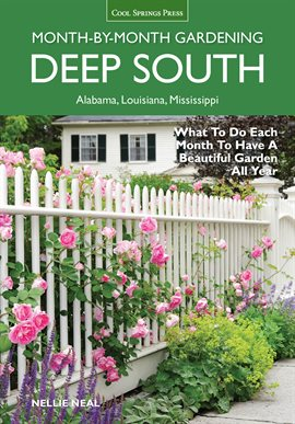 Cover image for Month-by-month Gardening: Deep South