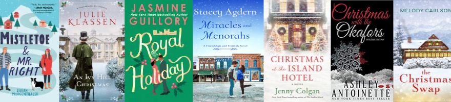 holiday romance book covers
