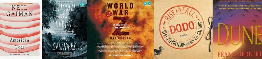 Full cast audiobook covers